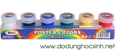 Poster color 6 màu W-12 (WinQ)