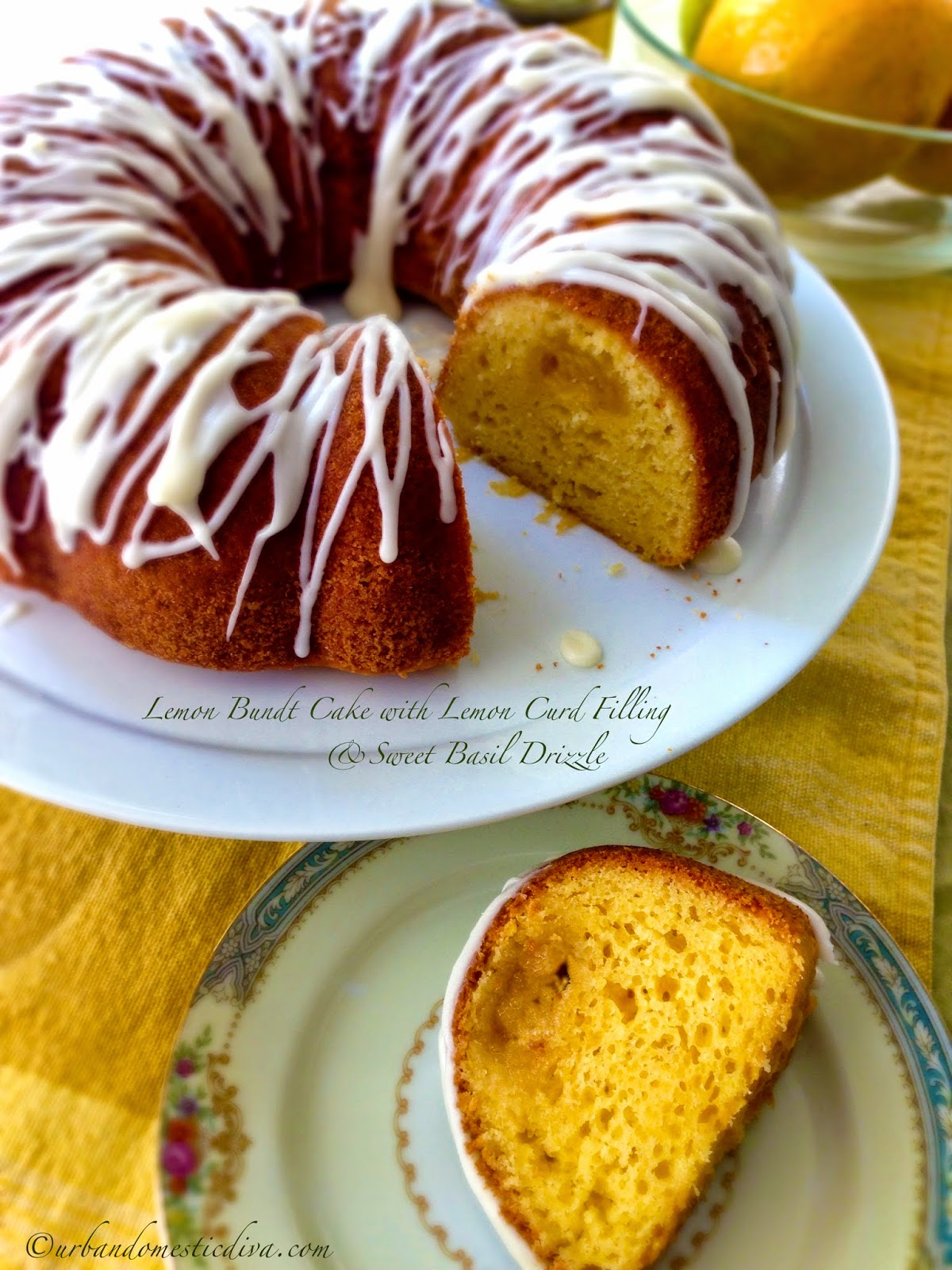 Recipe Lemon Bundt Cake With Lemon Curd Filling And Sweet