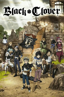 Black Clover cartoon movie