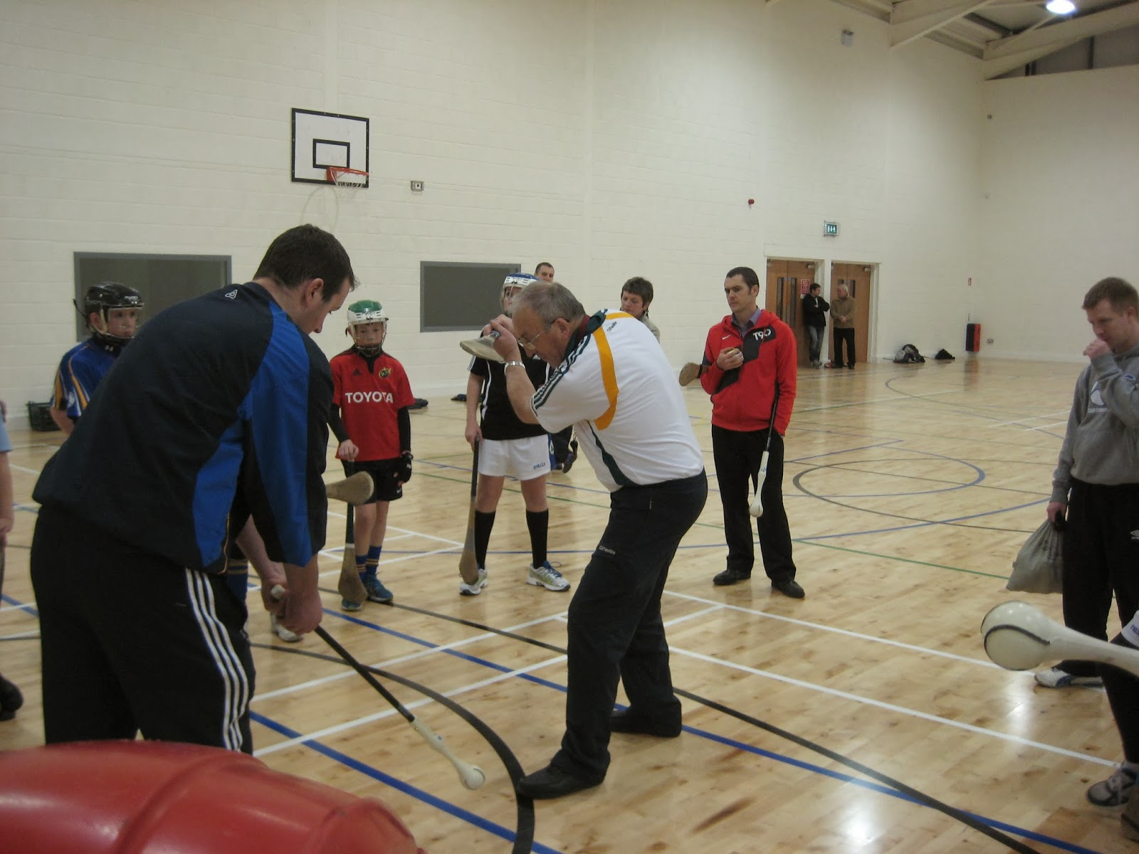 Photos from the Paudie Butler Hurling Workshop in local media