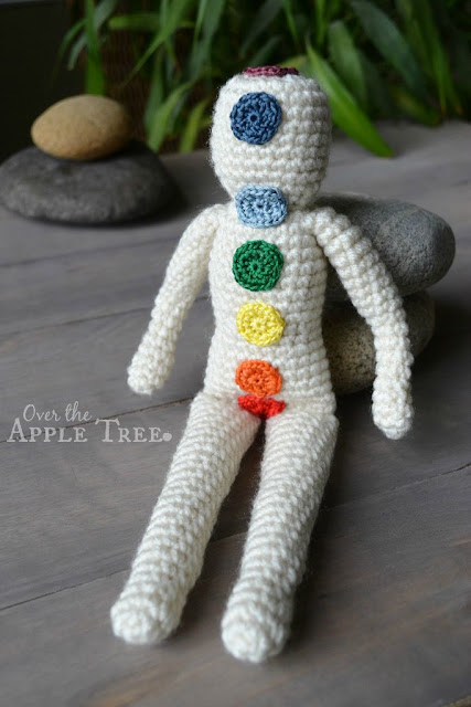 Crochet Reiki Chakra Doll >> Over The Apple Tree