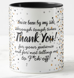 Funny thank you mug men crude rude offensive sarcastic