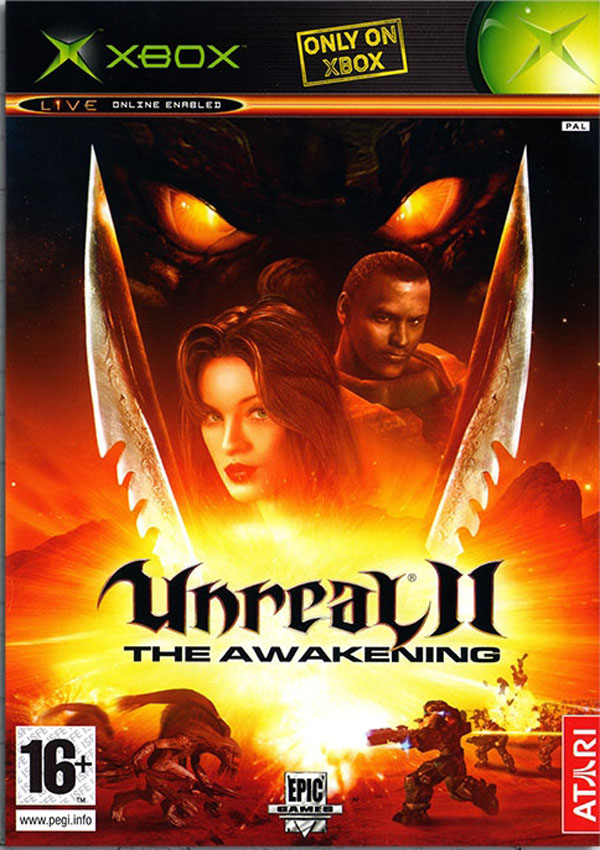 Unreal II The Awakening Download Cover Free Game