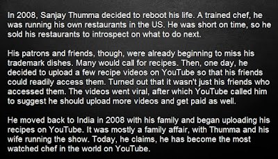 About Sanjay Thumma - Top 10 Indian Youtube Superstars 2017
