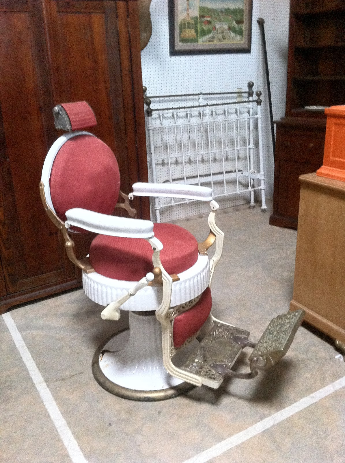 Old Barber Chairs Replacement Chair Slings Australia Girl Photos มถนายน 2013