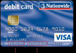 nach debit card