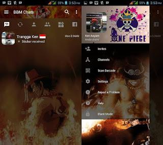 BBM Portgas D Ace