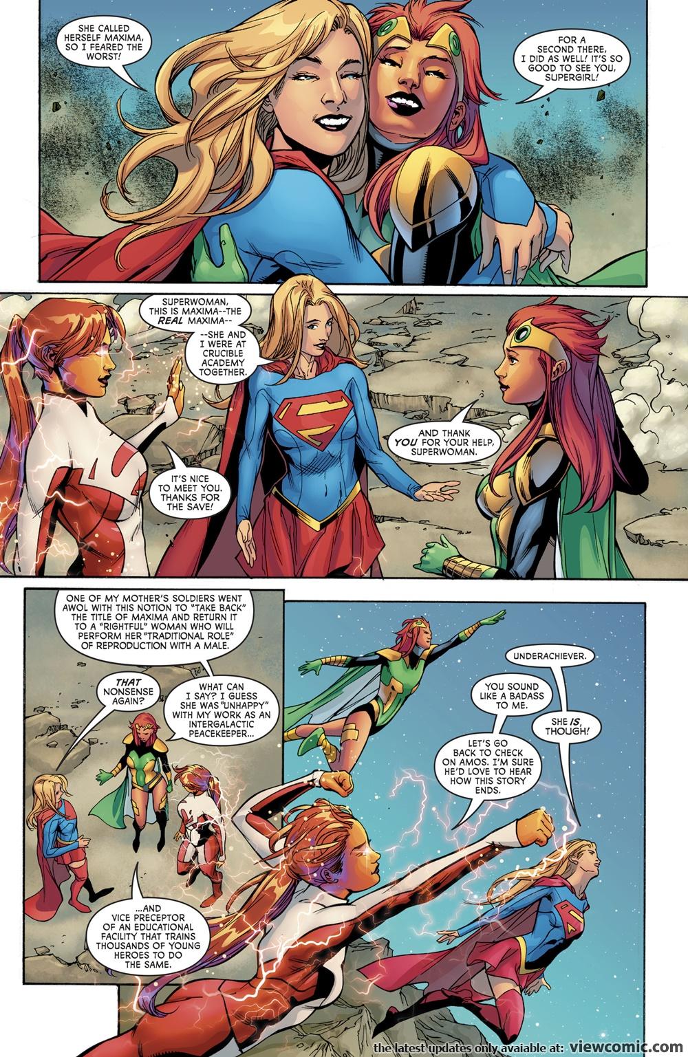 Superwoman 014 (2017) ………………………   Viewcomic reading comics online for free 2019