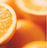 Nutritional contents of orange
