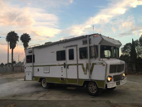 Used rvs 1973 winnebago indian classic rv for sale by owner for Classic motor homes for sale