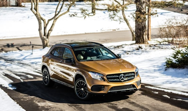 2018 Mercedes-Benz GLA-Class Exterior Change Review