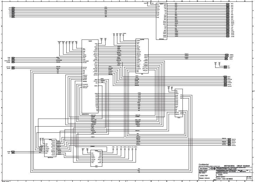 SONY ERICSSON Z800 Schematic Diagram  Phone Diagram