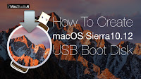 How To Create macOS Sierra 10.12 USB Boot Disk