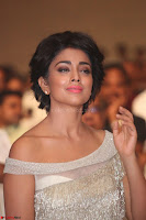 Shriya Saran in Stunning White Off Shoulder Gown at Nakshatram music launch ~  Exclusive (80).JPG