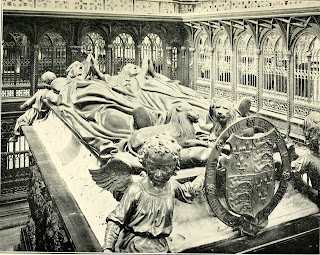 Torrigiano's tomb of Henry VII in Westminster Abbey