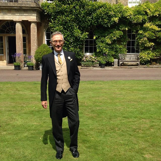 A Summer Wedding And The All-British Father Of The Bride