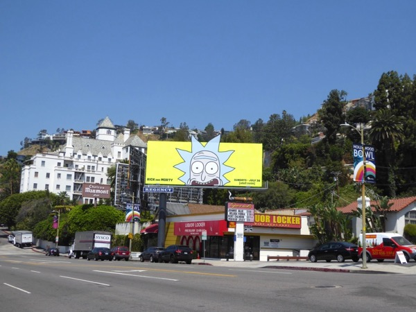 Rick and Morty season 3 billboard
