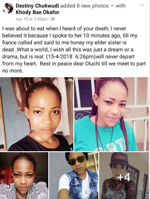 Beautiful Young Pregnant Woman Killed In Car Accident In Imo State (photos)