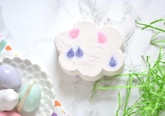 Lush Easter 2018 April Showers Bath Bomb