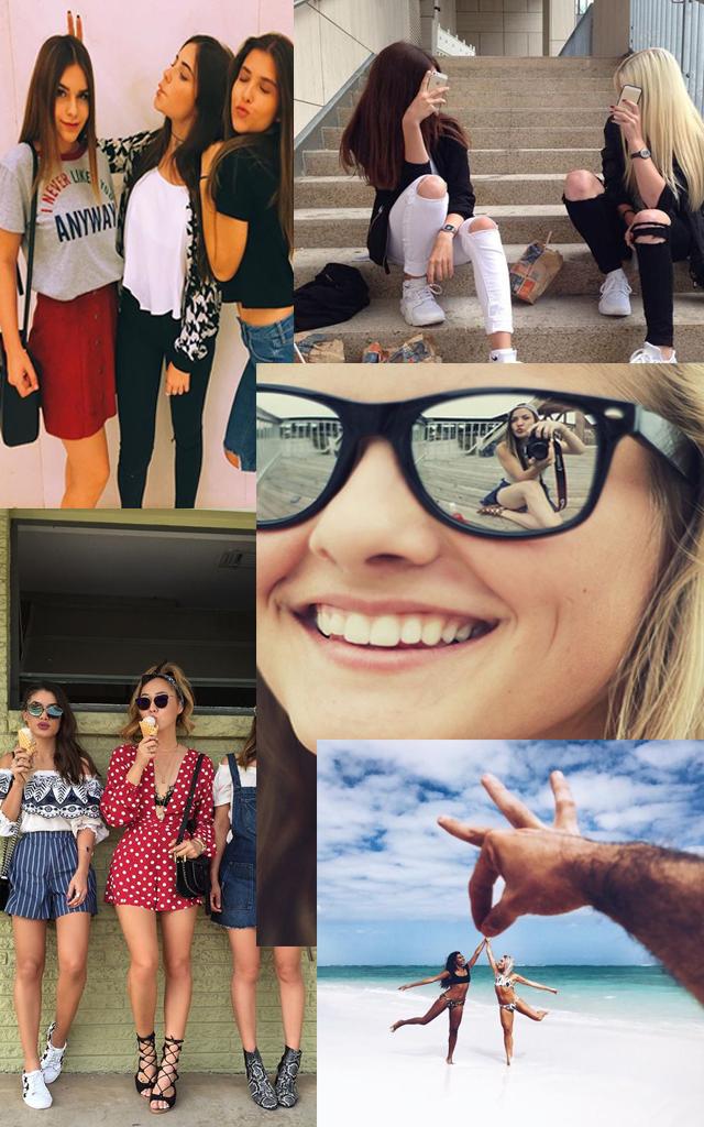 10 fotos para te inspirar na hora de fotografar com as amigas #Parte2