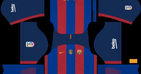 Jesus M PES: (FTS 15/DLS 16) Fc Barcelona Kits 2016/2017 (PES 2015/16 ...