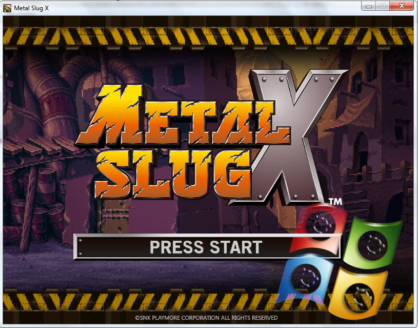 Download Metal Slug X Full RIP For PC