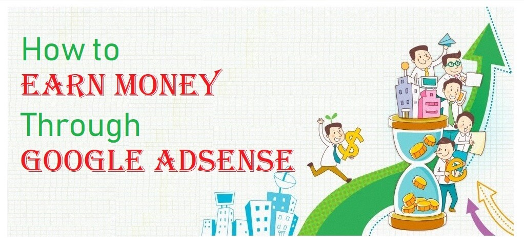 How to make money with Google Adsense Account?