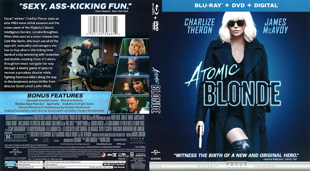 Atomic Blonde Bluray Cover
