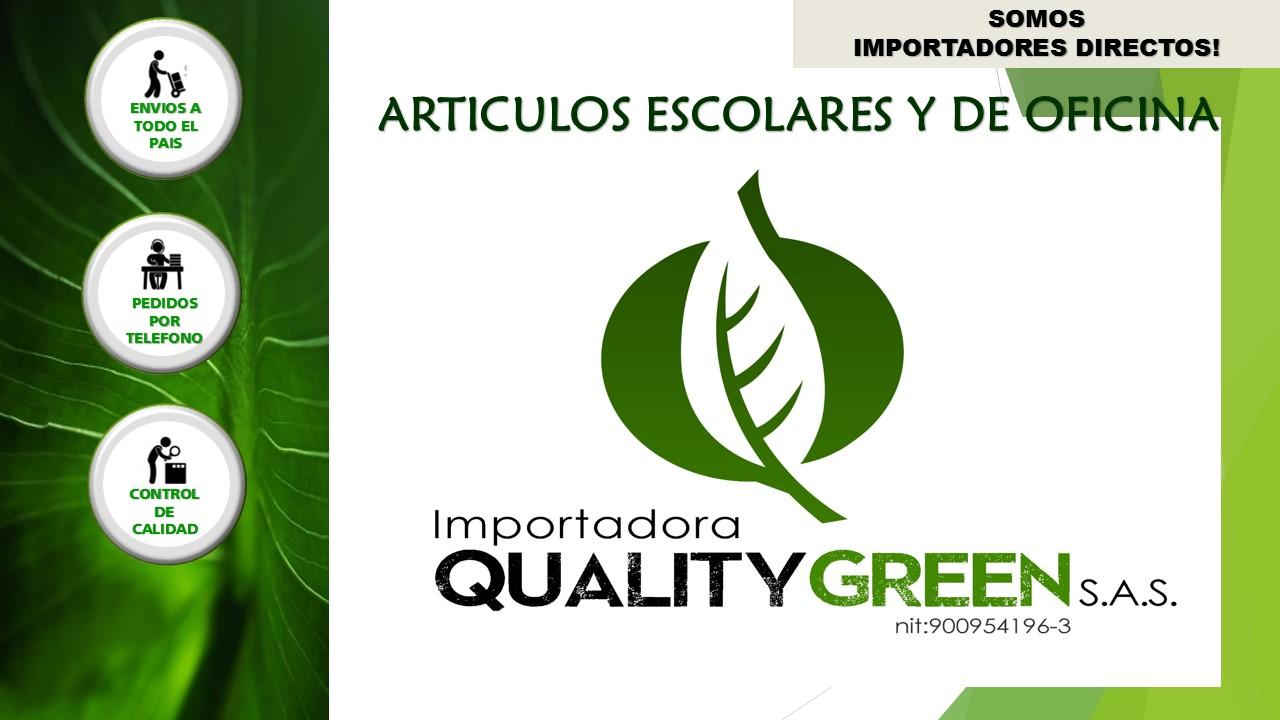 fe4fc3b61 catalogo papeleria mercadolibre  publicacion importadora quality green