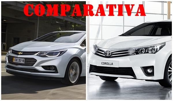 Comparativa Chevrolet Cruze 2 vs Toyota Corolla
