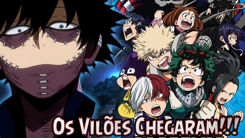 Os Vilões Chegaram!!! – Boku No Hero 3ª Temporada Episodio 3