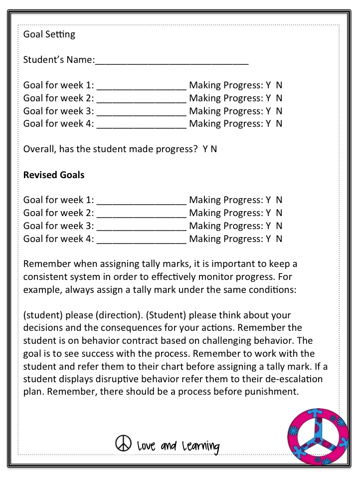 A Not So Wimpy Teacher\u0027s Behavior Management Manual - clroom management plan template