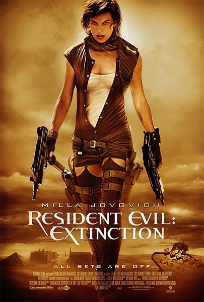 Resident Evil 3 Extinción (HD 1080P y español – ingles 2007) poster box code