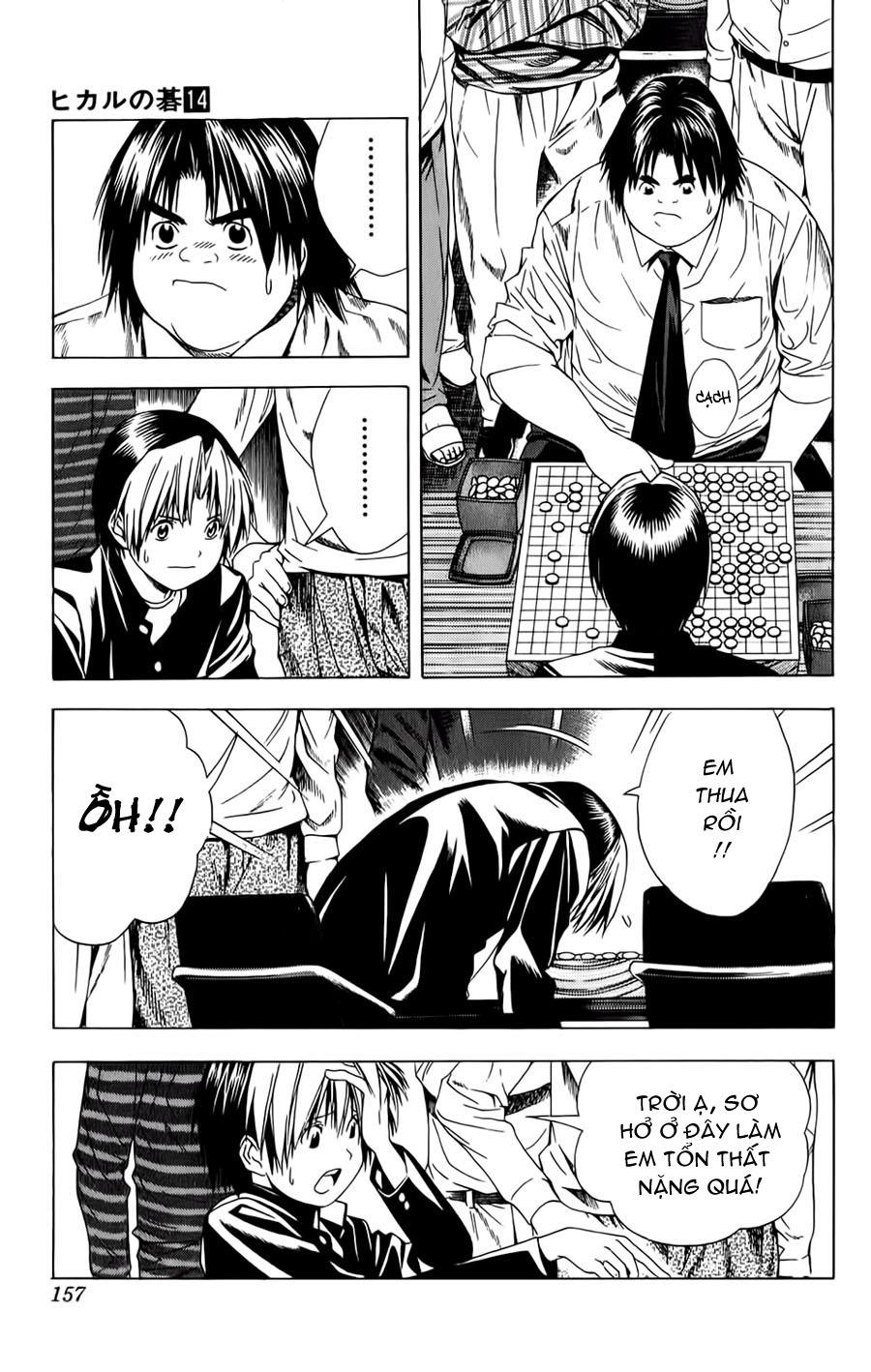 Hikaru No Go hikaru no go chap 120 trang 18