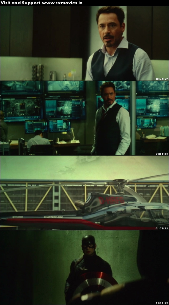 Captain America Civil War 2016 Dual Audio Hindi 720p HDTC