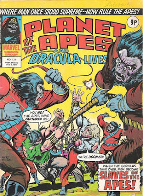 Marvel UK, Planet of the Apes #121, Battle