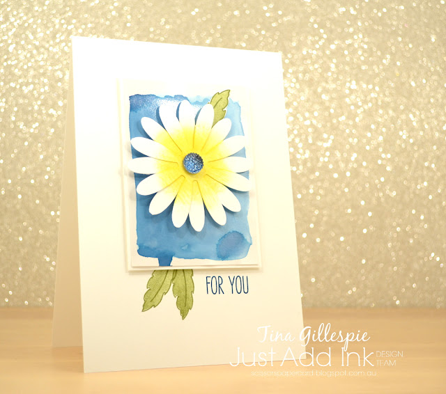 scissorspapercard, Stampin' Up!, Just Add Ink, Daisy Delight, Jar Of Love, Sunshine Sayings