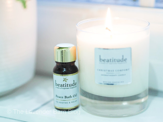 Beatitude Christmas Comfort Luxury Aromatherapy Candle