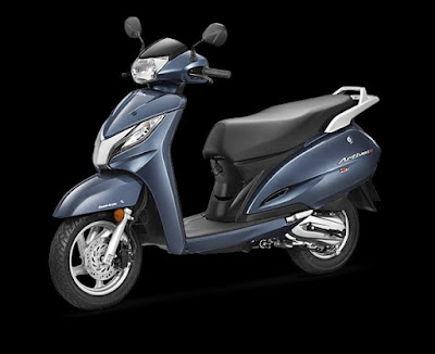Honda Activa 3G left side front wallpaper