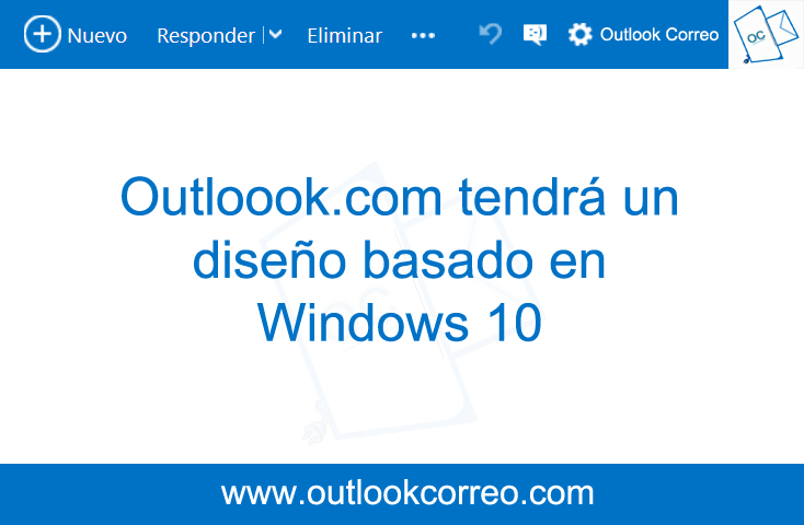 Outlook Dieño windows 10