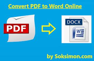 Cara Merubah File PDF ke Word Secara Manual Tanpa Aplikasi