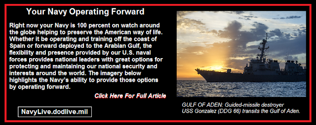 Your Navy Operating Forward