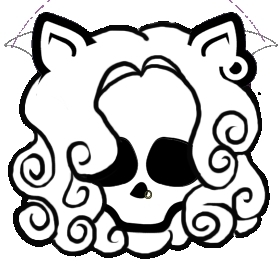 coloring pages monster high skull - photo#15