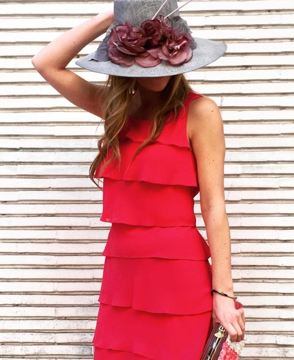 Accesorios para vestido rojo de boda