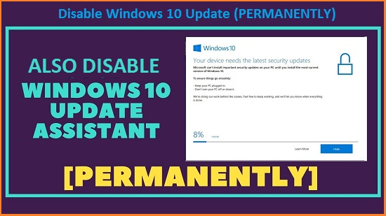 How To Disable Windows 10 Update Permanently Step By Step (With Pictures)