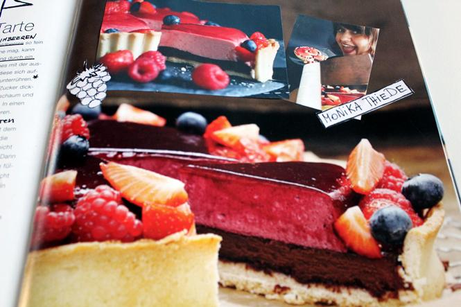 #BuchonTour mit Himbeer-Yuzu-Schokoladen-Tarte / Mo'Beads / Monika Thiede