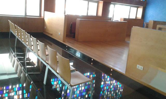salón de plenos del ayuntamiento de Barakaldo