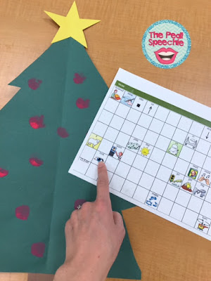 AAC speech therapy ideas: use a craft to model core vocabulary!