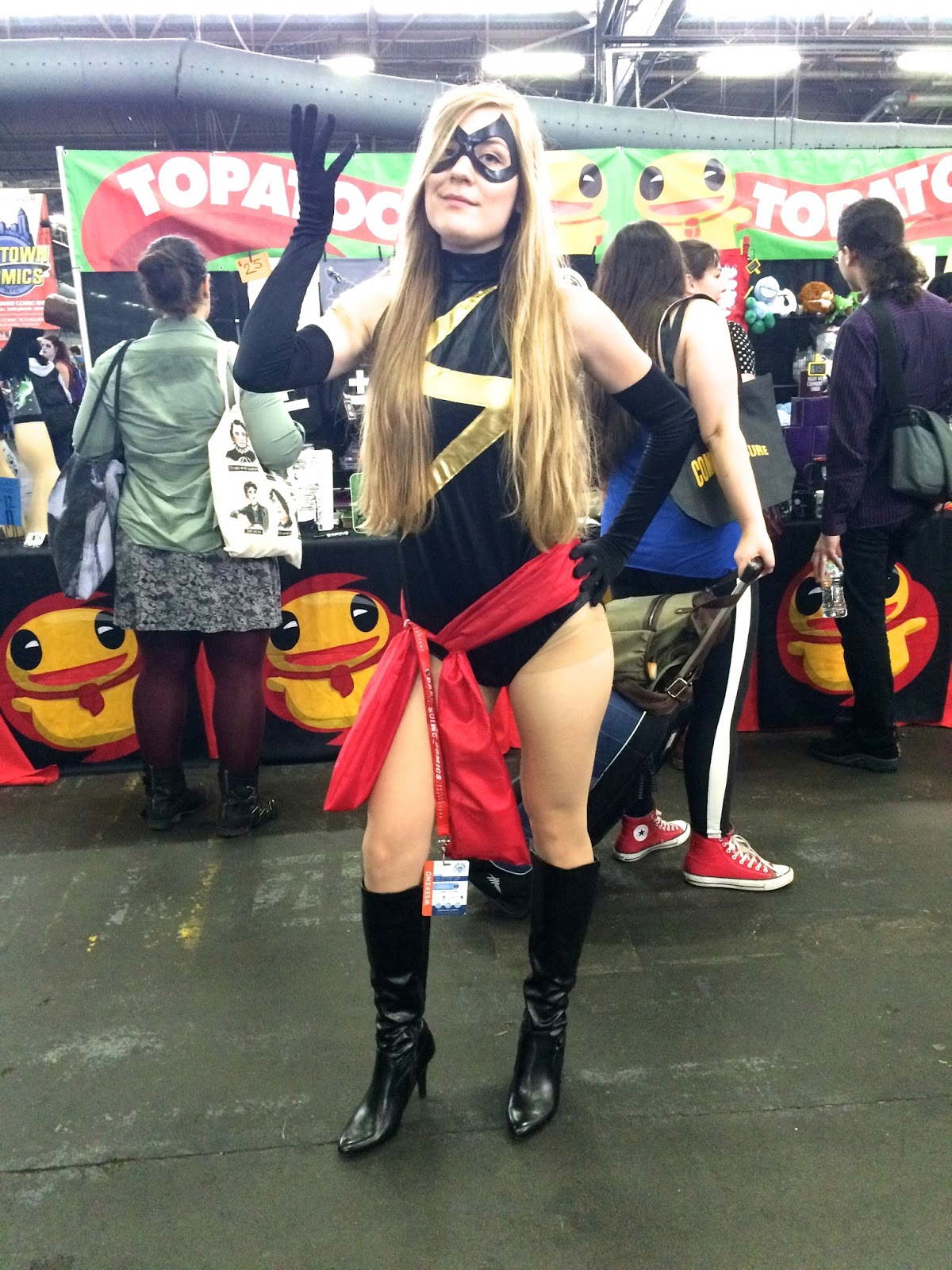 Ms. Marvel Special Edition NYC Carol Danvers cosplay