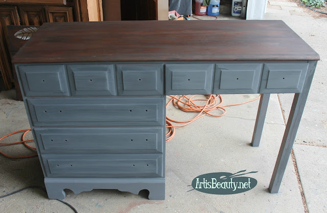 general finishes driftwood gray milk paint